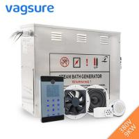 Quality Powerful Steam Room Machine , Steam Room Generator With Auto Drain Valve for sale