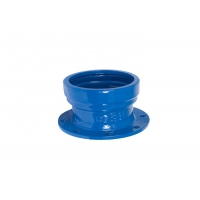 Quality Epoxy Coating Ductile Cast Iron EN545 Socket Pipe Joint for sale