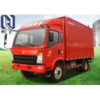 Quality Box Type Unloading Light Duty Truck 8 Ton With EURO II Emission Standard for sale