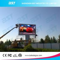 Buy cheap P6 Full Color Large Outdoor Advertising LED Display Video High Resolution from wholesalers