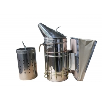 Quality Galvanized Bee Smoker  with Inner Tin M and L Size of Bee Hive Smoker for sale