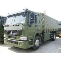 Quality Military 4x4 Heavy Cargo Trucks All Wheel Drive With EURO III Emission Standard for sale