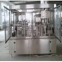 Buy cheap HIgh Accuracy Glass Bottle 3 In 1 Filling Machine Wine Bottling Machine 100ml - 5000ml from wholesalers