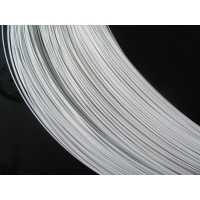 Quality Nylon Coated 0.9mm Hook And Eye Wire White Good Dyabilty 20kg Coil for sale