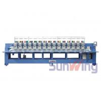 Buy cheap 9 Needle 15 Head Flat Embroidery Machine For Shoes / T - Shirts from wholesalers