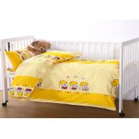 Buy cheap 100% Cotton Pillow Quilt Sheet Baby Crib Sets Cute Pattern Customized Size from wholesalers