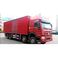 Quality 20M3 Capacity Sinotruk Howo7 Truck 336hp 40 - 50T 336hp HW76 Cabin for sale