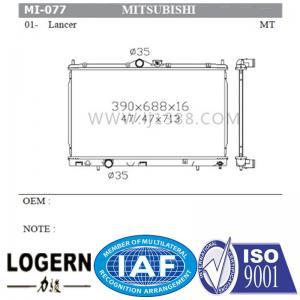Quality MITSUBISHI Car Parts Aluminium Auto Radiator For Mitsubishi Lancer'01 Mt for sale