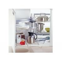 Buy cheap 180º Rotating Little Magic Corner Pull Out Wire Basket/Rack/Shelf for Kitchen from wholesalers