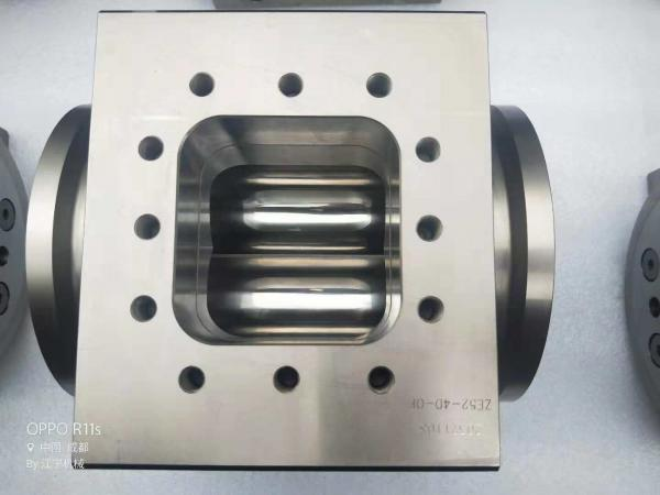 Buy Berstoff ZE 82 Extruder Screw Barrels With Ni60 Nickel Base Alloy Liner For Twin Screw Extruder Machine at wholesale prices