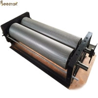 Quality Apiculture Beeswax Embossing Machine Aluminium Alloy Comb Foundation Machinery for sale
