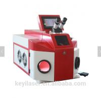 Buy cheap Advertising Industry Jewelry Laser Welding Machine Red Color Stable Performance from wholesalers