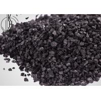 Quality Low Ash Electric Calcined Coal Granular Used In Metallurgical Reducing Agents for sale