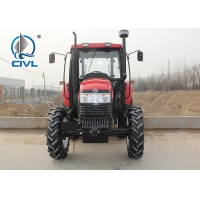 Quality CIVL 2200/22hp/2WD New farm tractor 4x2 wheel drive tractor  1450 wheelbase red color for sale
