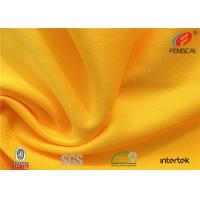 Quality Waterproof stretch Polyester spandex Knitted fabric for school sports uniform for sale
