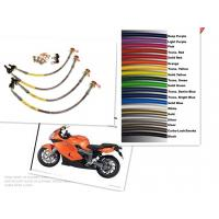Buy cheap Motorcycle Racing Colored TEFLON/PTFE Steel Braided Brake Line Hose Kits from wholesalers