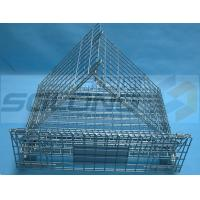 Buy cheap Warehouse Industrial Metal Box Pallet Storage Wire Steel Stackable Cages from wholesalers