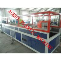 Quality Handrail Plastic Extrusion Line , Wood Plastic Composite Decking Profile Extruder for sale