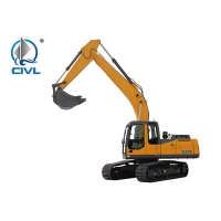 Quality CVXE200C Hydraulic 20 Ton Crawler Excavator Hydraulic System High Efficiency Digger Mining Excavator Yellow color for sale