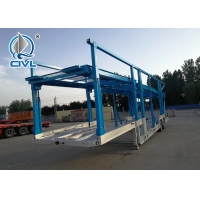 Quality 18m Vehicle transport trailer , car carrier 28ton 3.5' inter-changeable Pin for sale
