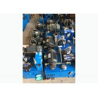 Quality Continuous Hydraulic Plastic Extrusion Screen Changer 10L-58 L/Min Rated Flow for sale