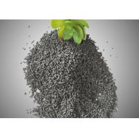 Quality 4mm Impregnated KOH Columnar Activated Carbon / Activated Charcoal Particles for sale