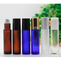 Quality Custom Cosmetic 5ml Roll On Perfume Bottles , Plastic Empty Rollerball Containers for sale