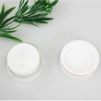 Quality Skin Care Airless 50ml 100g Frosted Cosmetic Cream Jars for sale