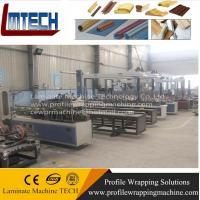 pvc profile wrapping machine