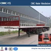 China 40ft flatbed trailer and dolly trailer for sale on sale