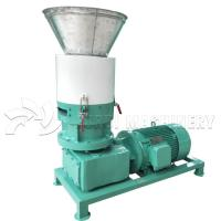 China Wood Chips Diesel Pellet Machine / Wood Pellet Manufacturing Equipment on sale