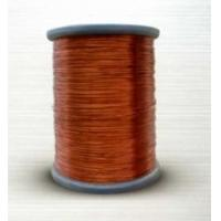 Quality 130L grade polyester round enameled copper wire for sale