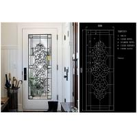 Buy cheap Energy Saving Decorative Art Glass Panels Embroidered Glass / Inlay Glass Sheets from wholesalers