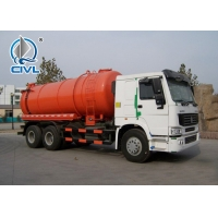Quality SINOTRUCK HOWO 10 tires 6x4 Sewage Suction Truck for sale