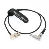 Quality 5 Pin Lemo To BNC Timecode Cable Right Angle SMPTE Time Code Out ARRI Mini Sound Devices ZAXCOM for sale