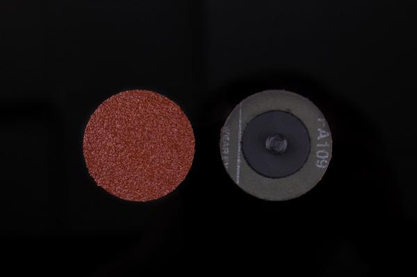 Buy 23000rpm Max Abrasive Fiber Disc Brown Corundum Sand Material Metal Polishing at wholesale prices