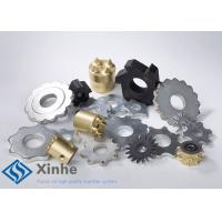 Quality Reloadable Tungsten Carbide Tipped Cutters / Tct Inserts For All Concrete Texturing for sale