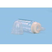 Quality Recyclable LFGB Colorless Borosilicate Glass Baby Bottle for sale