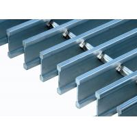 China Tru Weld Stainless Steel Floor Grating Durable Decorative Serrated Grating on sale