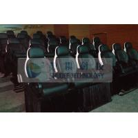 Quality 23 Seats Middle 5D theater System With Genuine Leather Motion Theater Chair for sale