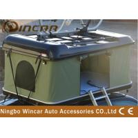 Buy cheap ABS Car Roof Rack Camping Tent , Popup Roof Tent With Bike Carrier / Rack from wholesalers
