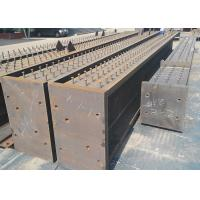 Quality Prefabricated Metal Structural Fabrication ISO 9001 2015 Quality Standard Approved for sale