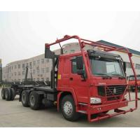 Quality Sinotruk HOWO Chassis 10m Log Timber Truck , Truck Prime Mover 40-60t for sale