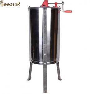 Quality 2 frame bee honey equipment extraction machine beekeeping Manual Stainless Steel Honey Extractor for sale