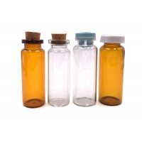 Quality Rubber Stopper Tight H39 OD18 Borosilicate Glass Bottle for sale