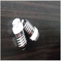 Buy cheap Alloy Led Bulbs New Type Spiral Mouth E10 F8 Highlighting input voltage: 3-4.5V F8 Straw Hat Led Bulbs  60LM from wholesalers