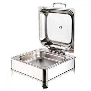Quality Fábrica al por mayor barato Buffet Chafing Dish Redondo Chef de Acero Inoxidable En Plato 1801F for sale