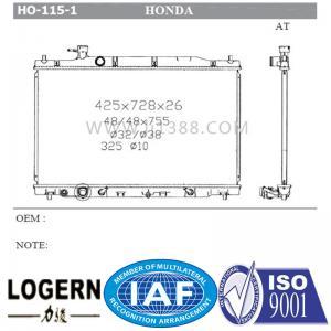 Quality 19010-R11-A51 21460-BY100 HONDA Car Radiator Cr-V 2010-2011 2.4L for sale