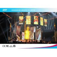 Buy cheap 1500Nits Brightness P3.91mm SMD2121 Lamp Led  Rental Video Display For Music show from wholesalers