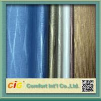 Quality Environmental PVC Artificial Leather Cloth For Sofa / Car Seat / Luggage Tear-Resistant for sale